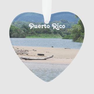 Puerto Rico Landscape Ornament