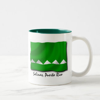 Puerto Rico Mug: Salinas Two-Tone Coffee Mug