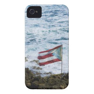 Puerto Rico, Old San Juan, flag of Puerto rice iPhone 4 Case-Mate Case