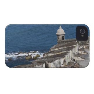 Puerto Rico, Old San Juan, section of El Morro Case-Mate iPhone 4 Cases