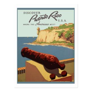 Puerto Rico (wpa) Postcard