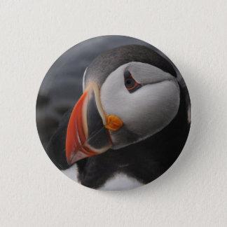 Puffin 6 Cm Round Badge