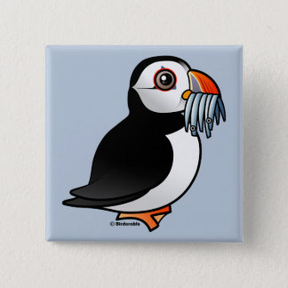 Puffin Prowess 15 Cm Square Badge