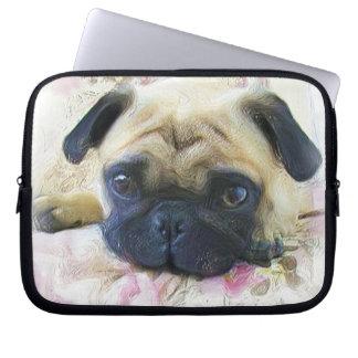 Pug dog computer sleeves