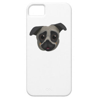 Pug iPhone 5 Case