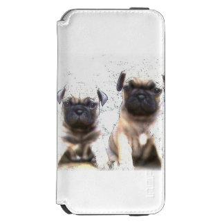 Pug puppies incipio watson™ iPhone 6 wallet case