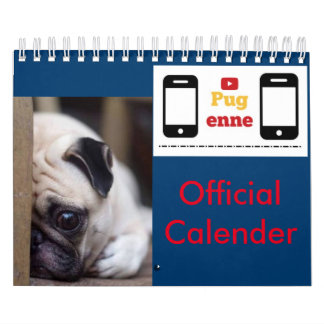 Pugenne Official Calender Calendars