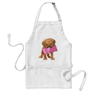 Puggle Puppy and Clutch Standard Apron