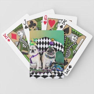 Pugsgiving Mardi Gras 2015 - Pippin Fugoh - Pugs Bicycle Playing Cards
