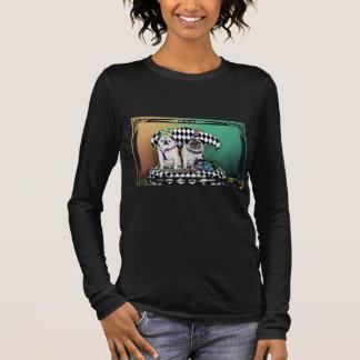 Pugsgiving Mardi Gras 2015 - Pippin Fugoh - Pugs Long Sleeve T-Shirt