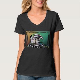 Pugsgiving Mardi Gras 2015 - Pippin Fugoh - Pugs T-Shirt