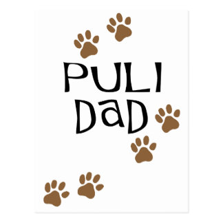 Puli Dad Postcard
