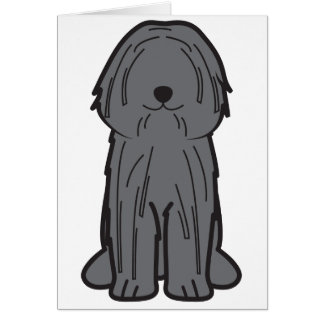 Puli Dog Cartoon Card