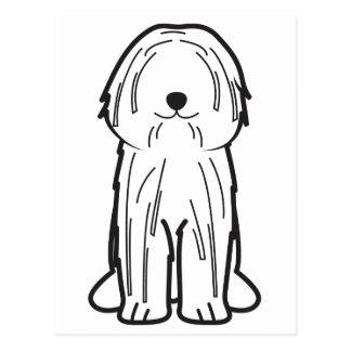Puli Dog Cartoon Postcard