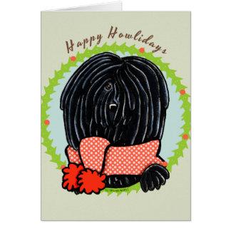 Puli Happy Howlidays Card