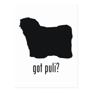 Puli Postcard