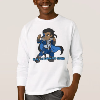Pulpy The Animated Series: Kids Tagless LS T-Shirt