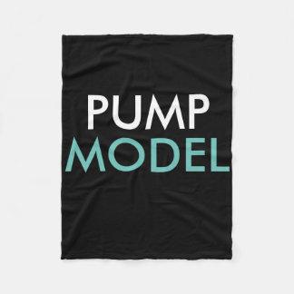 PUMP Magazine Fleece Model Blanket Fleece Blanket