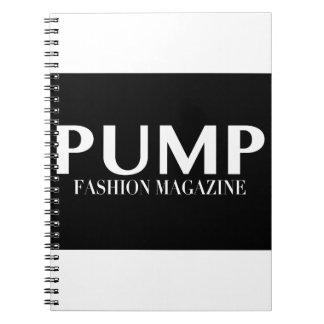 PUMP Magazine Notebook