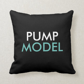 PUMP Magazine Travel Pillow Cushions