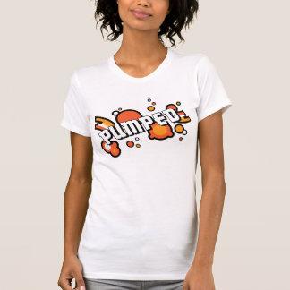 pumped-big tee shirt