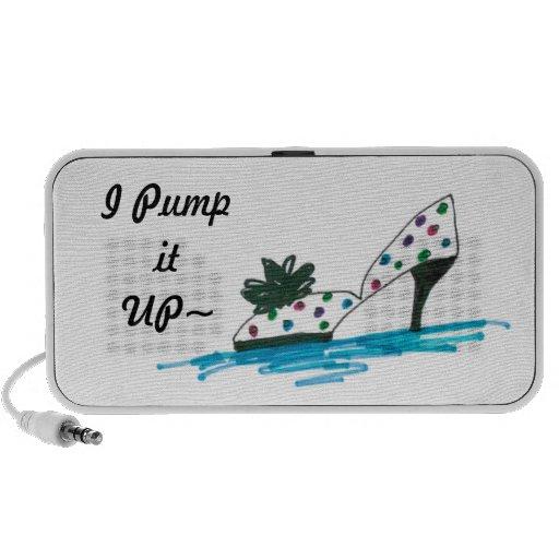 PUMPED iPod SPEAKERS