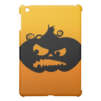 Pumpkin Angry iPad Mini Cover