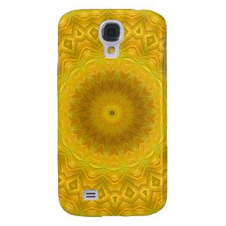 Pumpkin Blossom Kaleidoscope Galaxy S4 Case
