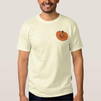 Pumpkin Embroidered T-Shirt