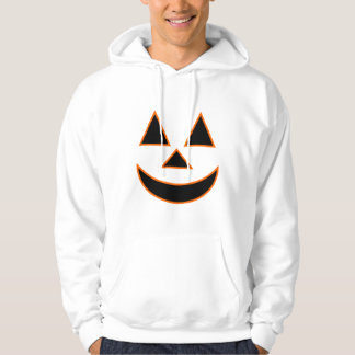 Pumpkin Face Holiday Design You Can Customize Hooded Pullover