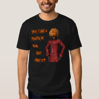 Pumpkin Head Attitude Shirt