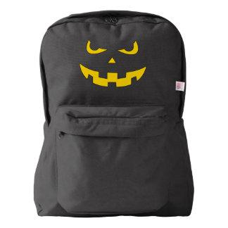 Pumpkin head backpack