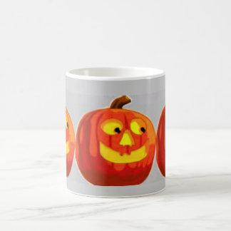 Pumpkin Head Basic White Mug