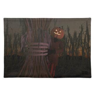 Pumpkin Head Placemats