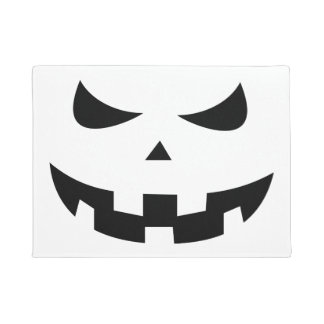 Pumpkin head doormat