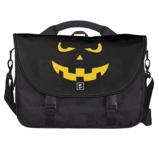 Pumpkin head laptop computer bag
