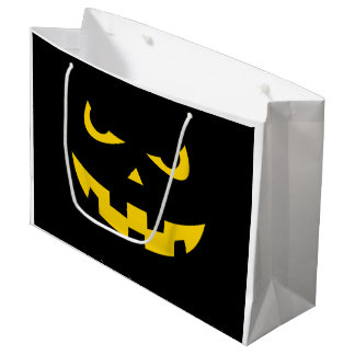 Pumpkin Head Large Gift Bag