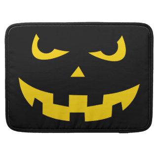 Pumpkin head MacBook pro sleeves