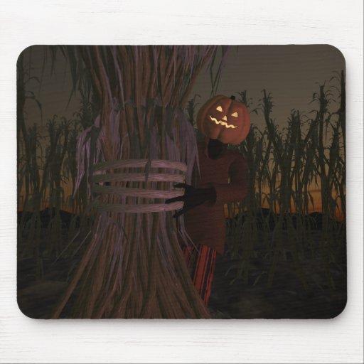 Pumpkin Head Mousepad