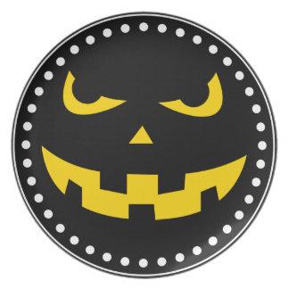 Pumpkin head plate