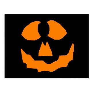 Pumpkin Head Postcard