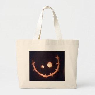 Pumpkin Head Jumbo Tote Bag