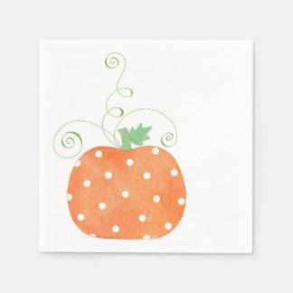 Pumpkin - Napkins Disposable Napkin