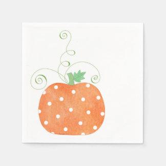Pumpkin - Napkins Disposable Napkins