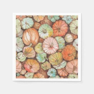 Pumpkin Patch Paper Napkin
