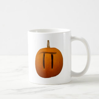 Pumpkin Pi Basic White Mug