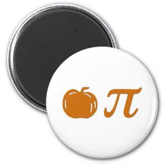 pumpkin pie 6 cm round magnet