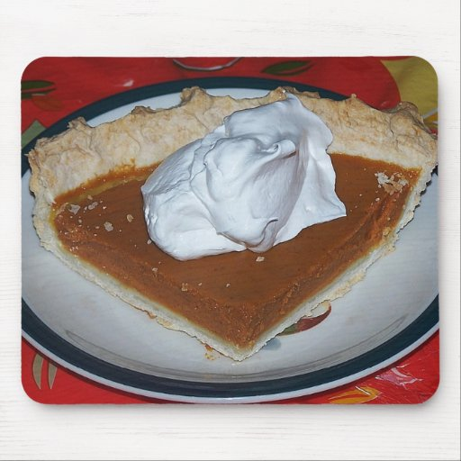 Pumpkin Pie And Whipcream Mousepad