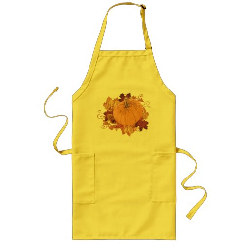Pumpkin Pie apron