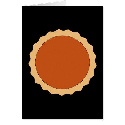 Pumpkin Pie. Cards
